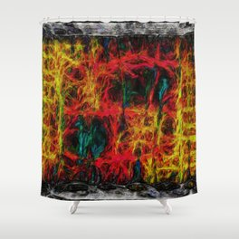 Weaveworld 087 Into The Gyre Shower Curtain