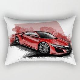 New Acura NSX Rectangular Pillow