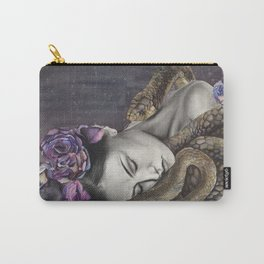 Watercolor Snake Art Carry-All Pouch