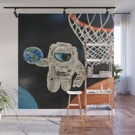 Space Games Wall Mural