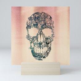 Skull Vintage Mini Art Print