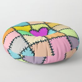 Cloth Clippings Floor Pillow