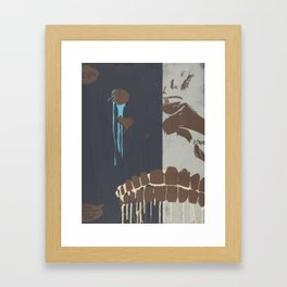 CHOMP Framed Art Print