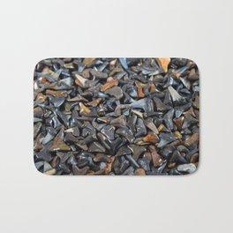 Florida - Fossil Shark Teeth Bath Mat