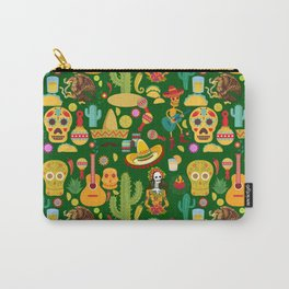 Fiesta Time! Mexican Icons Carry-All Pouch