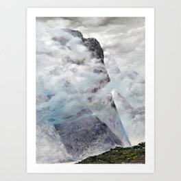 One Foggy Day Art Print