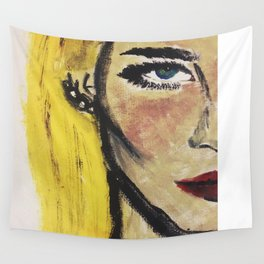 When shes gone, the world goes dark. Wall Tapestry
