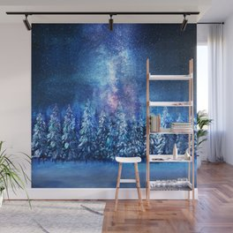 Forest under the Starlight Wall Mural