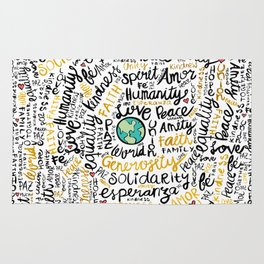 Positive Messages Rug
