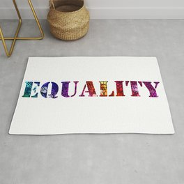 Equality For All 3 - Stone Rock'd Art By Sharon Cummings Rug