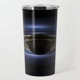 Saturn's Shadow Travel Mug