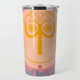 It's a Small World Tower Clock Travel Mug
