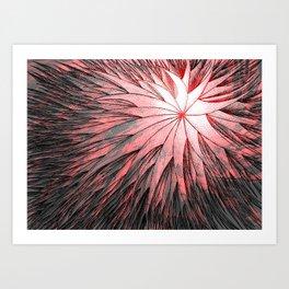 Abstract Flower2 Art Print