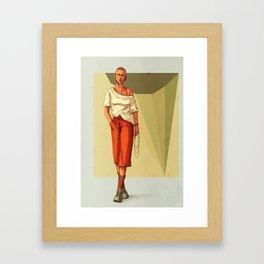 waiting #3 Framed Art Print