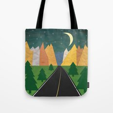 Somewhere going Nowhere Tote Bag