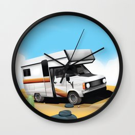 New Mexico - For Adventure Wall Clock