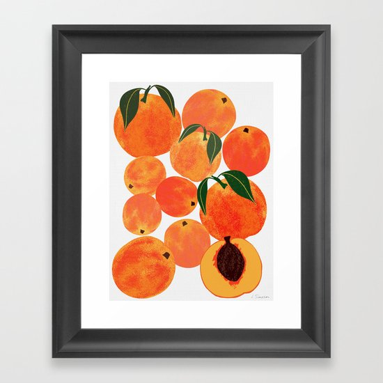 Peach Harvest by leannesimpsonart