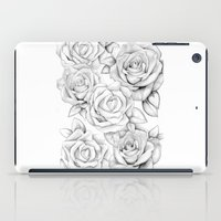 roses iPad Cases featuring roses by iphigenia myos
