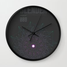 Blender experiment no.9 Wall Clock