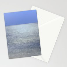 Moonlight at the sea Stationery Cards