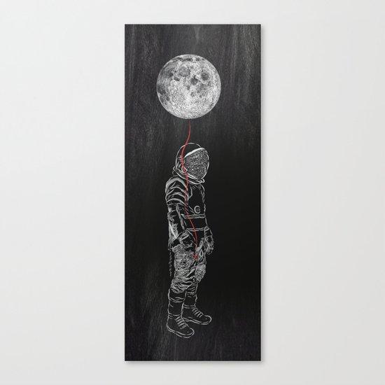 Moon Balloon 02 Canvas Print