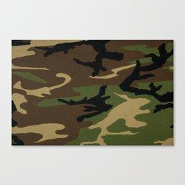 Camo Canvas Print
