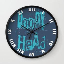 Doody Head Wall Clock