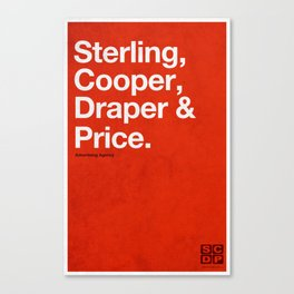 Mad Men | Sterling, Cooper, Draper & Price Canvas Print