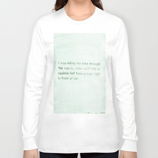 art of story Long Sleeve T-shirt