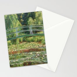 Bridge over a Pond of Water Lilies - Monet Stationery Cards
