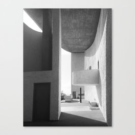 Ronchamp Chapel 001 Canvas Print