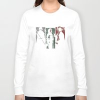 dark souls Long Sleeve T-shirts featuring Souls Waifus by Shadyfolk