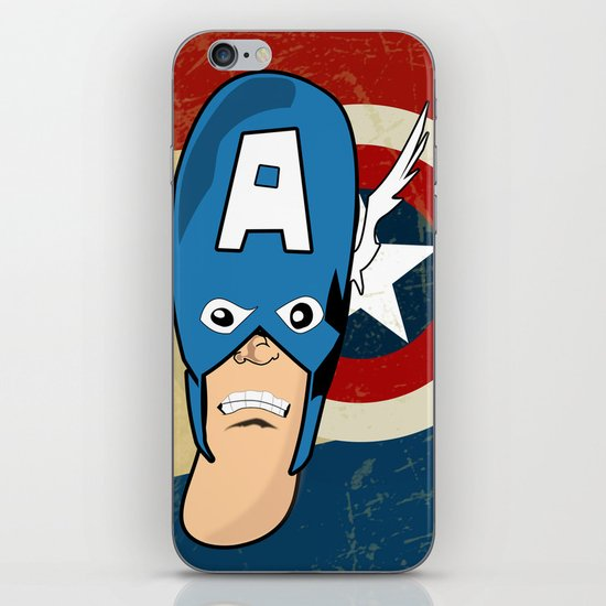 Captain Awesome iPhone & iPod Skin