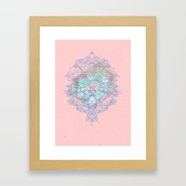 Cosmic blast Framed Art Print