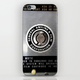 Vint film cam iPhone Skin