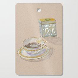 Uncertain Tea Cutting Board