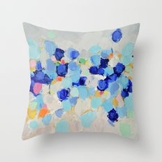 Amoebic Party No. 1 Throw Pillow