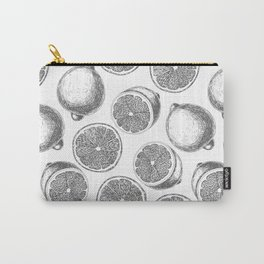 Lemons hand drawn pattern Carry-All Pouch