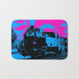 Vintage Steam Train Bath Mat