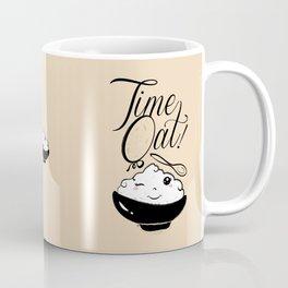 Time Oat - Funny Kawaii Oatmeal Coffee Mug
