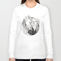 dragonfly Long Sleeve T-shirts featuring Dragonfly by Gosia&Helena