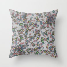 Op Ning A Glam  Rocker From Hereford Throw Pillow