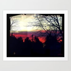 Paint Me A Sunset Art Print