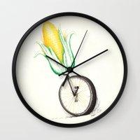 unicorn Wall Clocks featuring Unicorn by TheCore