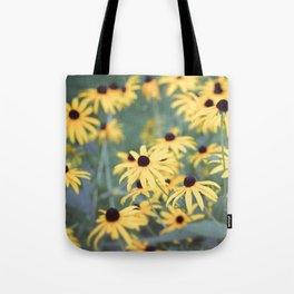Black Eyed Susan Flower Tote Bag