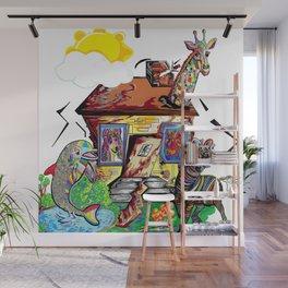 Animal House Wall Mural
