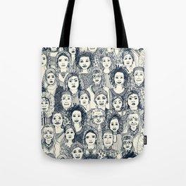WOMEN OF THE WORLD INDIGO Tote Bag