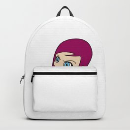 karategirl Karate female Woman Daughter fighting Backpack