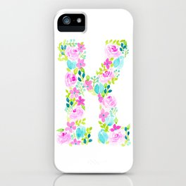It's all o-K! - Letter K iPhone Case