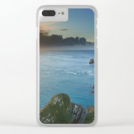 Sur la Mer Clear iPhone Case